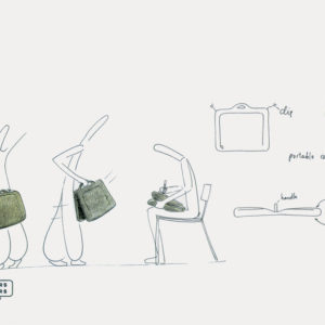 Bag design for Mandarina Duck