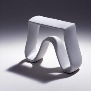Porcelain stool by Hella Jongerius