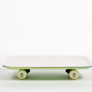Tray on wheels