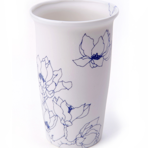 Blooming over cup by Mina Wu & Jan. B.