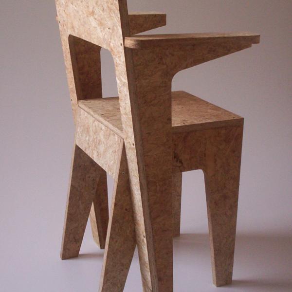 Twentyfiveeurostool / chair / armchair by Niels van Eijk & Miriam van der Lubbe