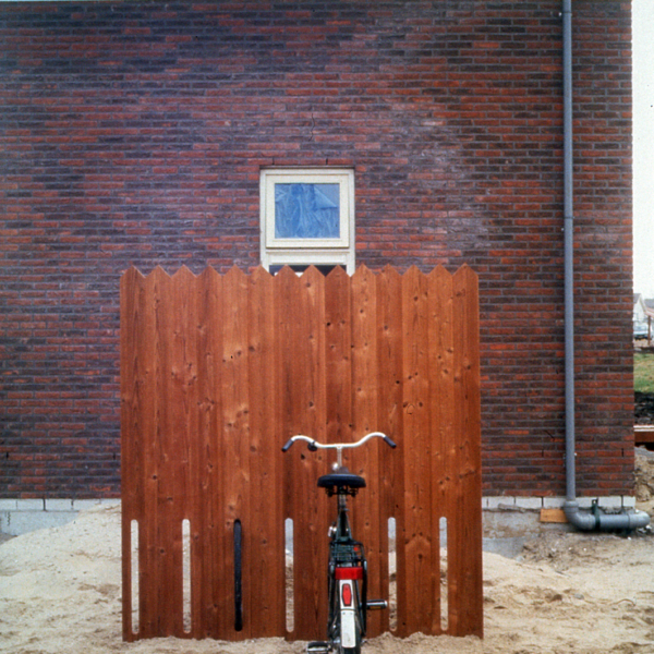 Bicycle fence by NEXT Architects