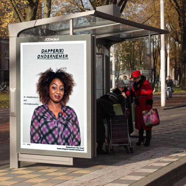 Poster campaign Dapper(e) Ondernemers