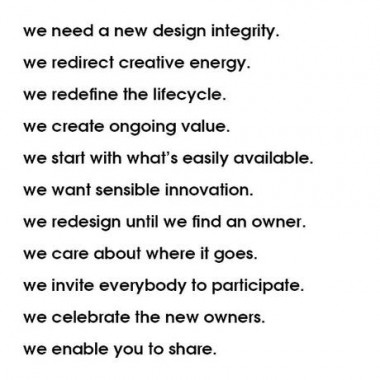droog manifesto