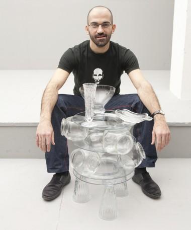 Fotis Terzakis - glass arrangement 1