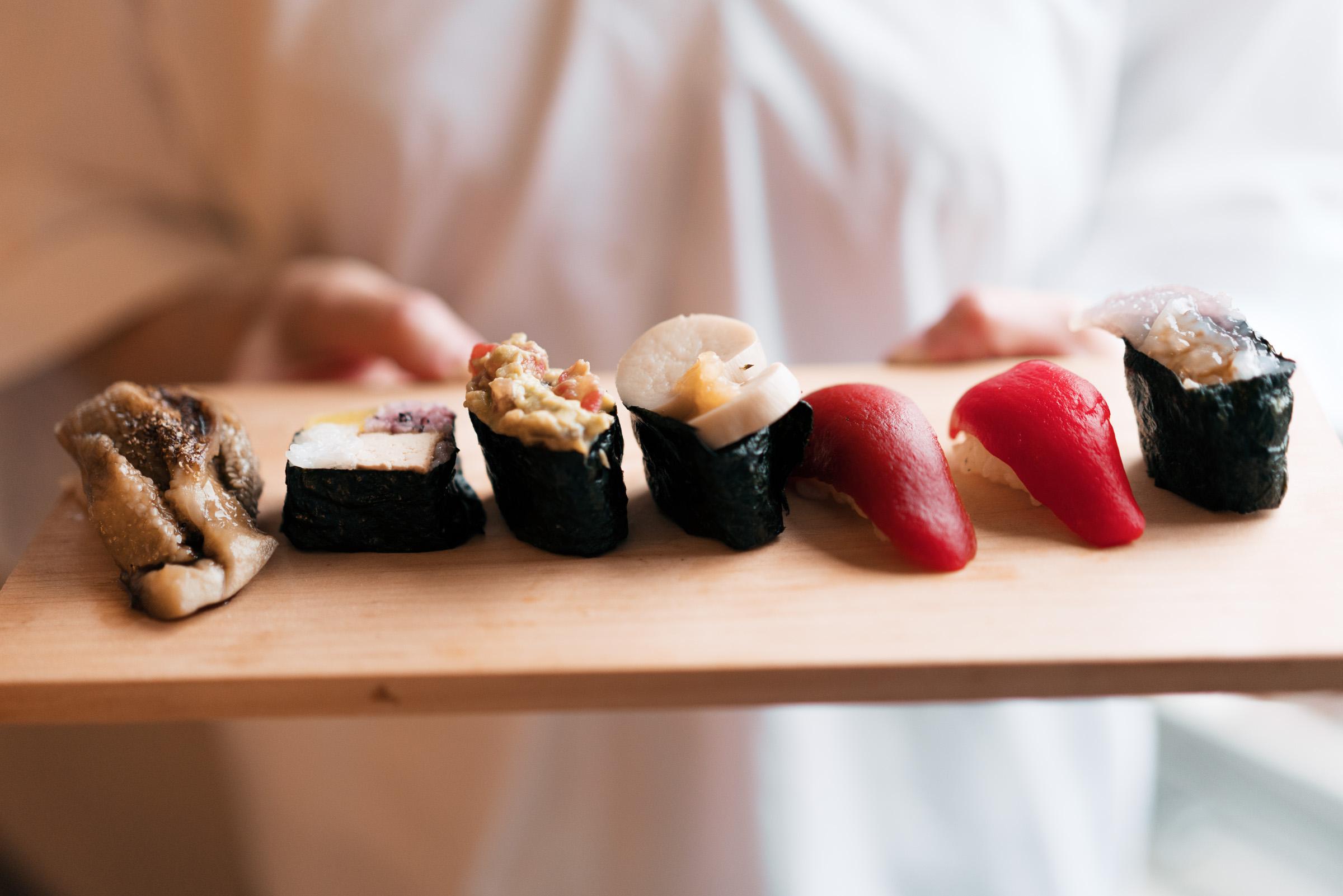 Vegan Sushi Tasting