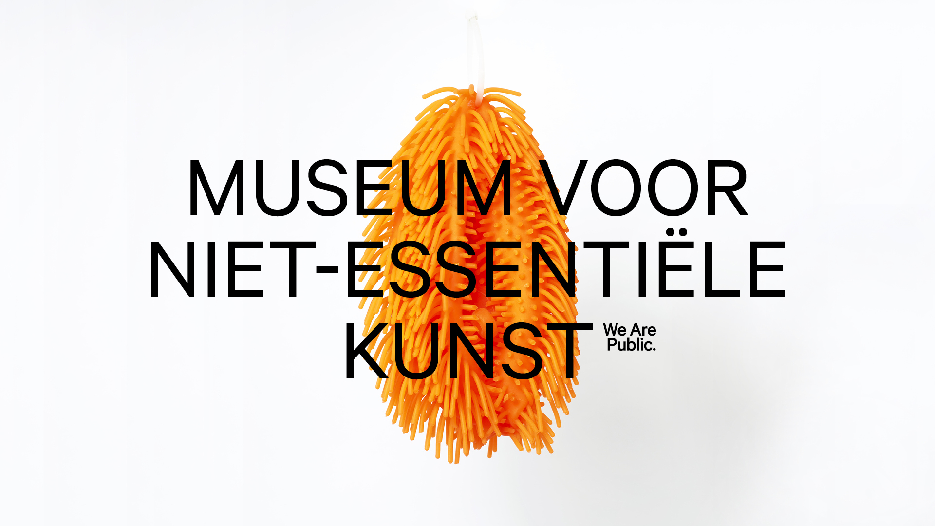 Museum for Non-Essential Art by We Are Public